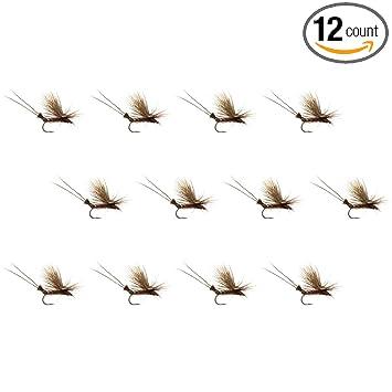 12-Pack Montana Fly Company Flexi Girdle Bug