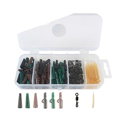 di prim'ordine miglior prezzo qualità affidabile Lintimes 120-pack Attrezzatura da Pesca alla Carpa Set/Kit ...