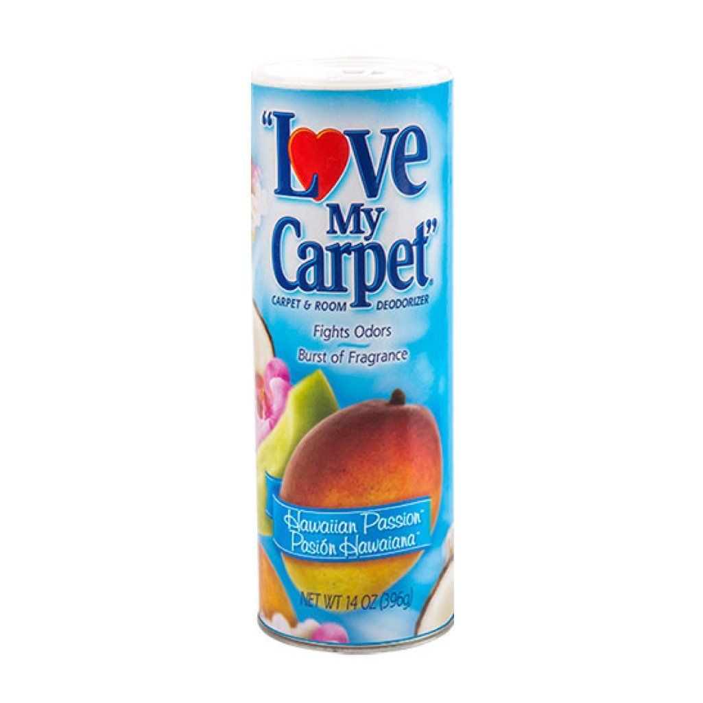 LOVE MY CARPET 2-in-1 Carpet & Room Deodorizer (Hawaiian Passion, 2-PACK)