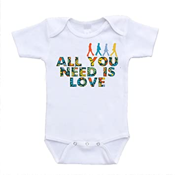 Amazon Com All You Need Is Love The Beatles Parody Inspired Baby