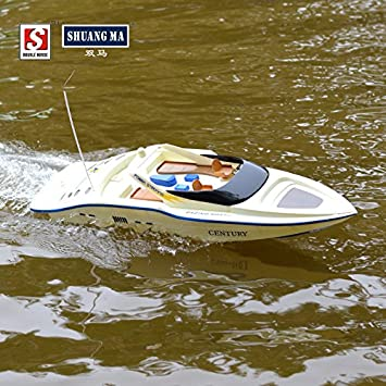 Amazon.com : Shuangma 7004 4ch 2.4ghz Remote Control Boat Rc ...