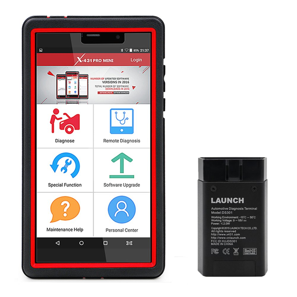 Launch X431 Pro Mini Diagnostic Tool with Remote Diagnosis Function 2 years Free Update Online