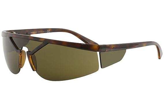 Amazon.com: Gafas de sol Versace VE 4349 526773 HAVANA: Clothing