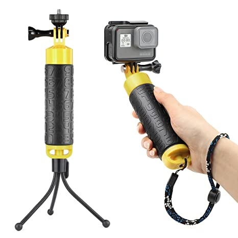 Amazon.com: soonsun impermeable flotante de mano agarre con ...
