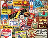 vintage puzzle - White Mountain Puzzles Vintage Signs - 1000 Piece Jigsaw Puzzle