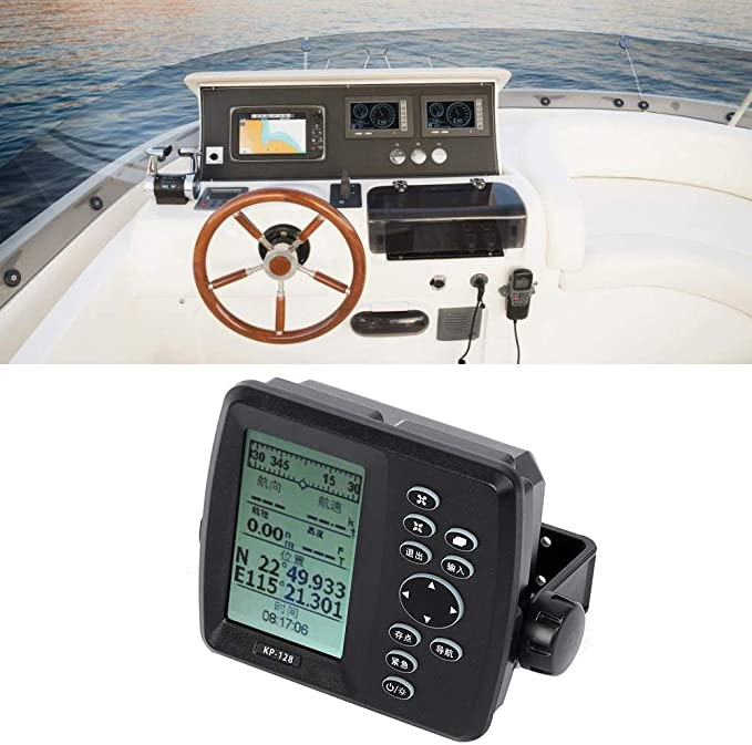 4.3 pulgadas Pantalla LCD de cristal líquido a prueba de agua GPS marino Navegación por satélite Localizador de navegación a prueba de agua Gráfico Plotter: Amazon.es: Coche y moto