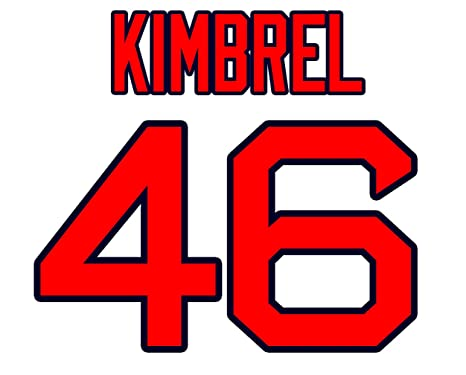 new concept c22c7 8e034 Craig Kimbrel Boston Red Sox Jersey Number Kit, Authentic ...