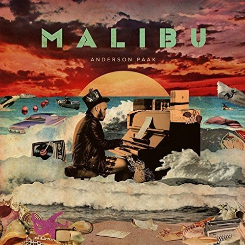 Vinilo : Anderson Paak - Malibu [Explicit Content] (Poster, Digital Download Card, 2 Disc)