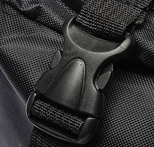 Malayas® Transporttasche Fahrrad Fahradtsche Bike Transporttasche Tragtasche Packtasche Reisetasche für Fahrrad - Wasserdicht 132Cm X 25Cm X 82Cm 1680D Passend für bis 26 zoll Fahrrad Schwarz
