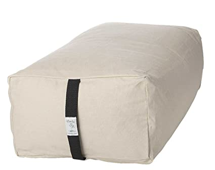Amazon.com : Bheka Rectangular 100% Cotton Yoga Bolster ...