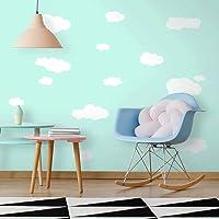 RoomMates RMK1562SCS Calcomanías autoadhesivas Pela y Pega de Nubes, fondo blanco