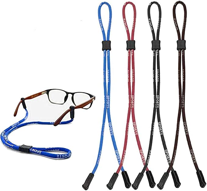 Sports Adjustable Sunglasses Eyeglass Spectacles Neck Strap Cord Lanyard NEW