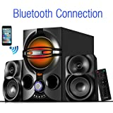 Tablets excellent clear sound /& FM radio USB//SD// for Smartphone/'s Computers Boytone BT-209FD Wireless Bluetooth Main unit Powerful Sound /& Bass 30 watt Remote control Aux Port Home Theater