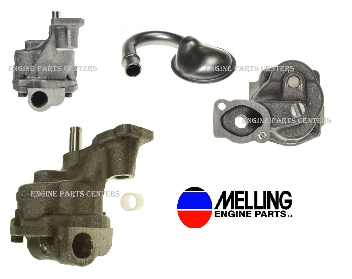 Melling Oil Pump and Pick Up Screen 1993-2002 Chevy sb 350 305 265 With 3/4' Inlet (Stock Replacement)