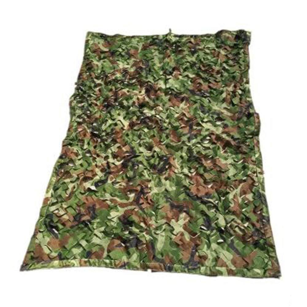Vert 3x7m GuoEY Filet De Camouflage Camping Camouflage en Plein Air Cacher Crème Solaire Décoration, 28 Tailles (Couleur   Vert, Taille   2x9m)