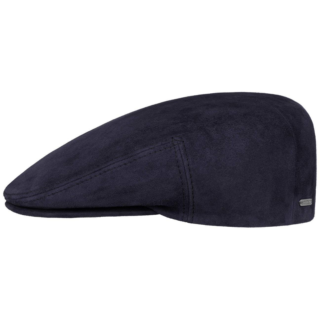 91bed51759f Stetson Kent Goat Leather Flat Cap hat Ivy  Amazon.co.uk  Clothing