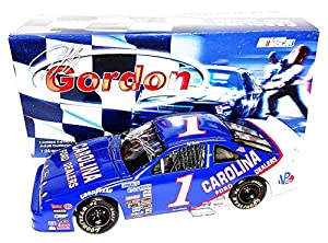 AUTOGRAPHED 1991 Jeff Gordon #1 Carolina Ford Dealers Racing (Busch Series Rookie) Signed Action 1/24 NASCAR Diecast Car with COA (Limited Edition) by Trackside Autographs
