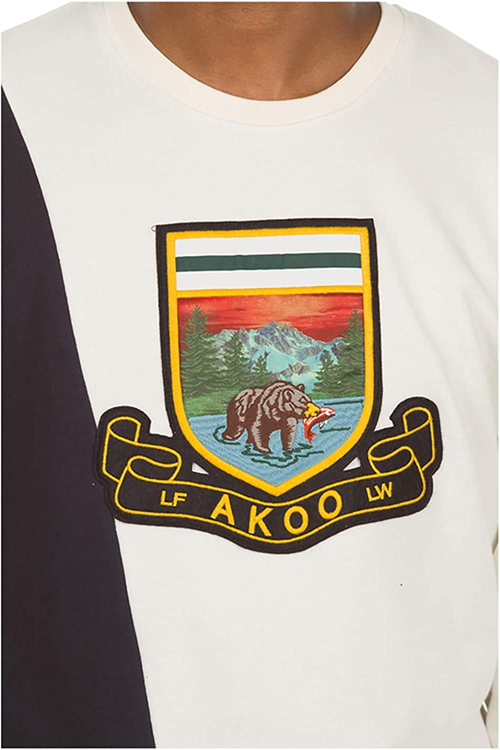 Akoo Big Fish Long Sleeve Tee in 3 Color Choices 791-8212