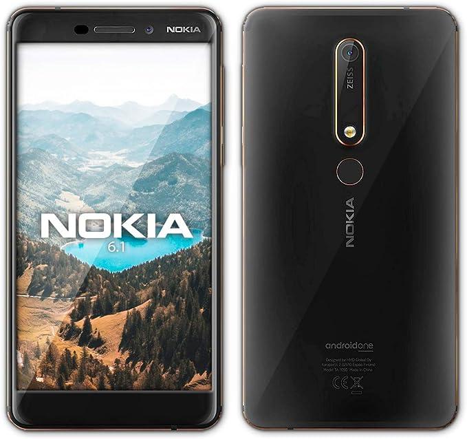 Nokia 6.1 - Smartphone 32GB, 3GB RAM, Dual Sim, Black/Copper: Amazon.es: Electrónica