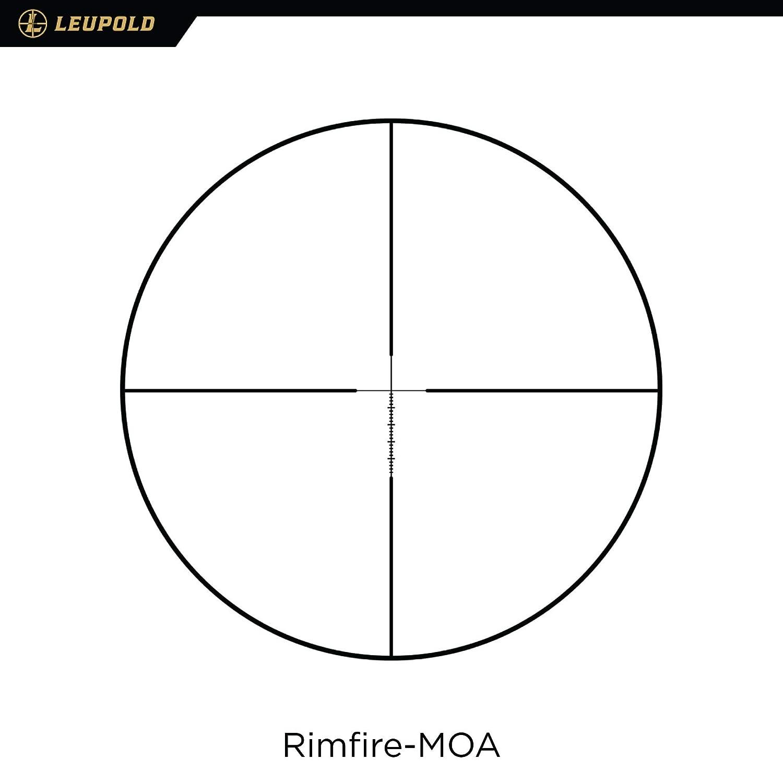 174181 Matte Rimfire MOA Leupold VX-Freedom Rimfire 3-9x40 1 inch Riflescopes