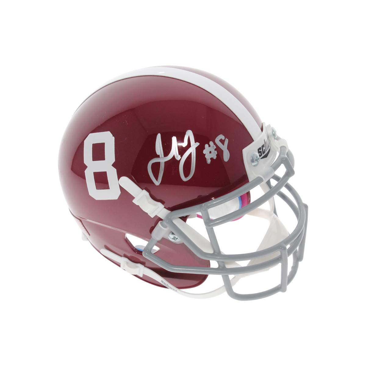 Julio Jones Autographed Signed Alabama Crimson Tide Schutt Mini Helmet - JSA Authentic