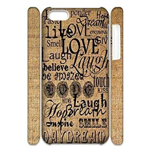 diy phone caseCustom Live Laugh Love Case for ipod touch 5 with English graffiti art yxuan_9778444 at xuanzdiy phone case