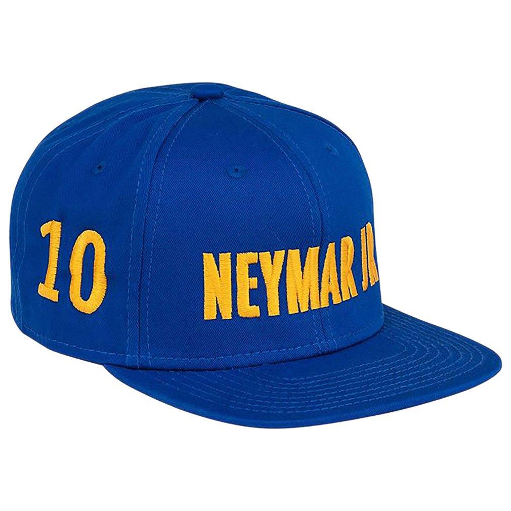PSG - Official Paris Saint-Germain Neymar Jr Flat Visor Mens Cap - Blue, Yellow at Amazon Mens Clothing store: