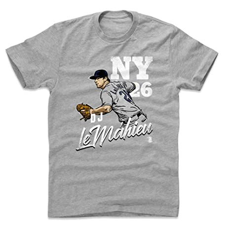 best website 3bda1 67520 Amazon.com : 500 LEVEL DJ LeMahieu Shirt - New York Baseball ...