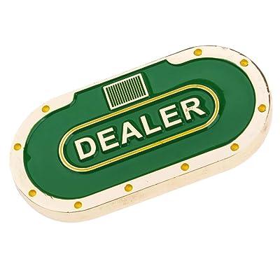 Baoblaze Grande Metal Botón de Distribuidor con Doble Cara Buttons para Casino Juegos de Fiesta KTV: Juguetes y juegos