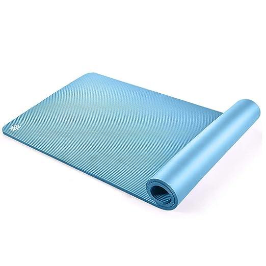 QRFDIAN Las esteras de Yoga para Principiantes, largas y ...