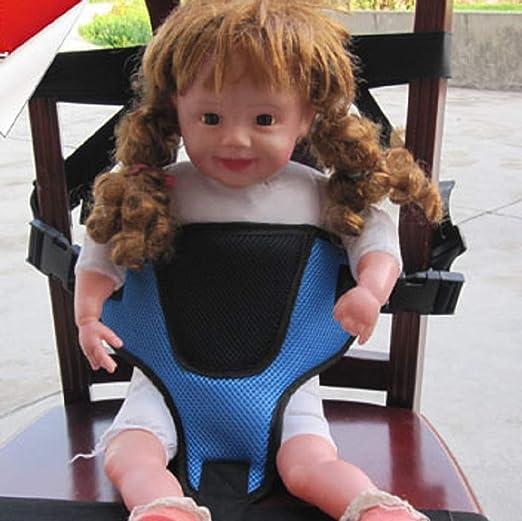 GLJY Correa de Seguridad para niños portátil Cinturón de Seguridad ...