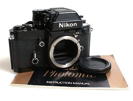 amazon com nikon f2 as photomic 35mm slr film camera body w rh amazon com nikon f2 manual pdf nikon fe2 manual