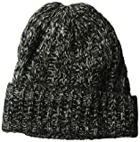 Spyder Women's Entwine Hat, Black/Marshmallow, One Size