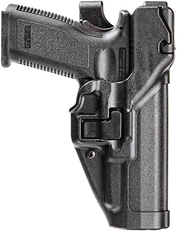 BLACKHAWK SERPA Level 3 Auto Lock Duty Holster - Matte Finish
