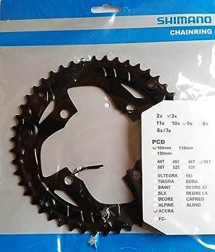 Cadena de bicicleta Shimano Acera FC-T3010 Cadenas hojas 48 ...