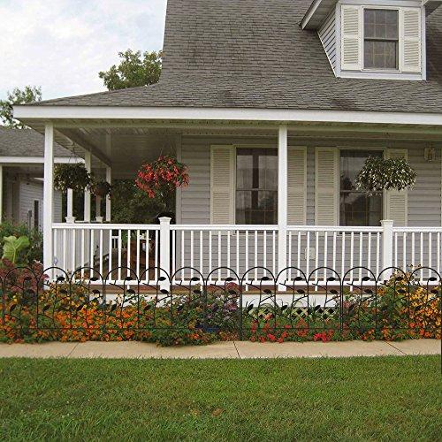 18 Inch Garden Fence 7ft Decorative Garden Fencing