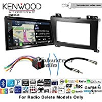 Volunteer Audio Kenwood DNX574S Double Din Radio Install Kit with GPS Navigation Apple CarPlay Android Auto Fits 2007-2009 Dodge Sprinter 2010-2014 Mercedes-Benz Sprinter