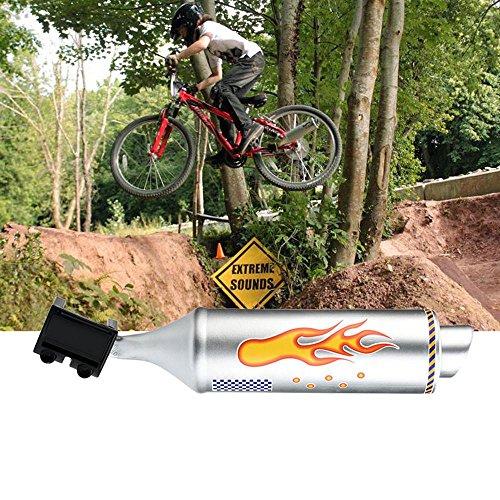 kasien Bicycle Turbo Pipe Motorcycle Megaphone Accessories by kasien (Image #3)