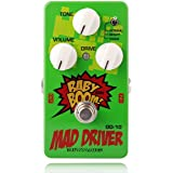 Biyany Guitar Overdrive Pedal, OD-10 Mad Driver Pedal Guitar, 3 Modes Guitar Pedal Overdrive with Ture Bypass, Baby Boom…