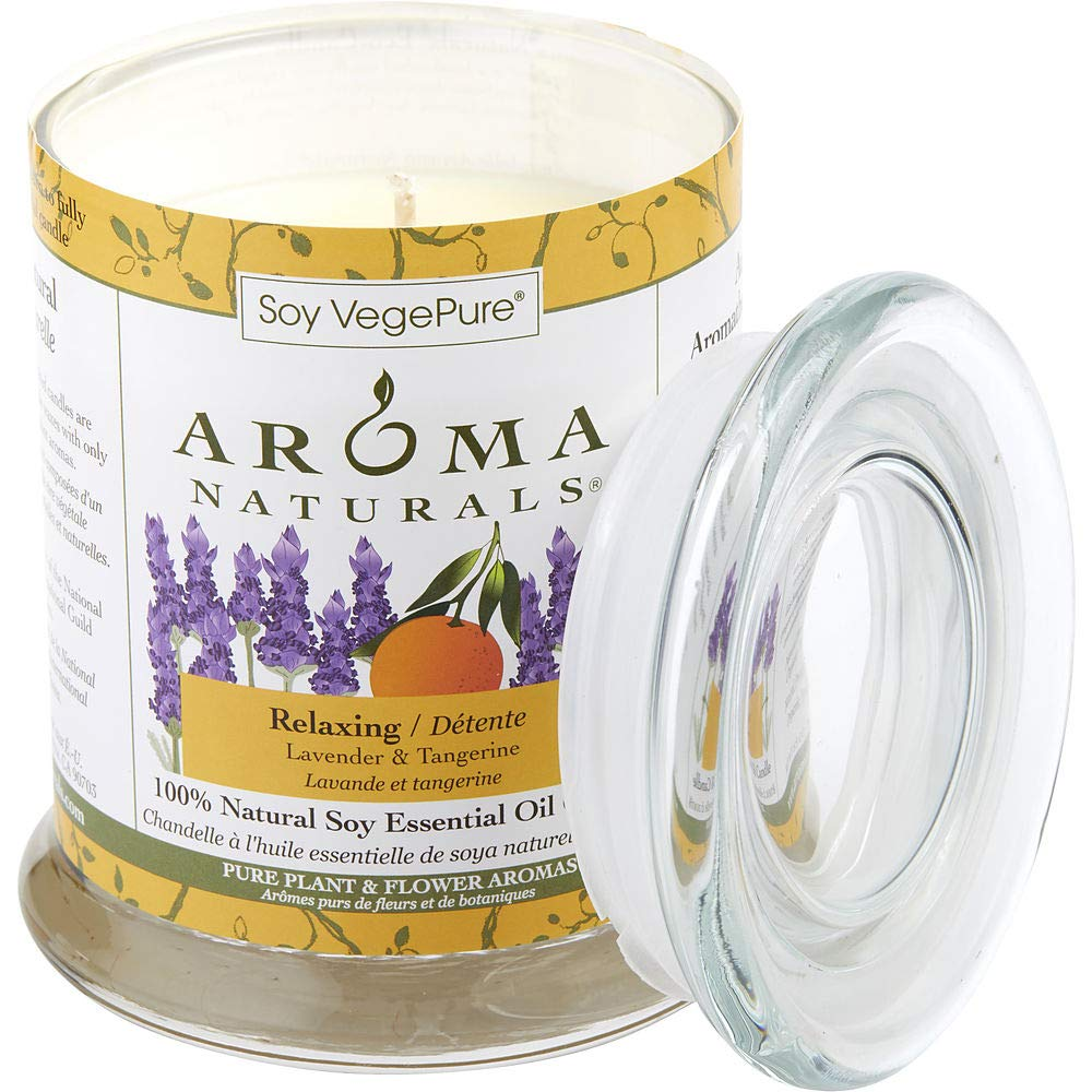 RELAXING AROMATHERAPY by Relaxing Aromatherapy ONE 3.7x4.5 inch MEDIUM GLASS (Package of 4)