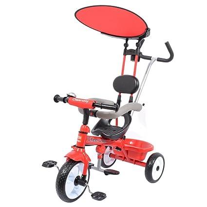 DACHUI Triciclo para niños, 1.5-5 años carrito de bebé cochecito de niño,