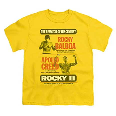 Youth Rocky Apollo Sign Kids T-Shirt Size YL
