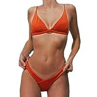 Donne sexy push-up reggiseno imbottito spiaggia Halter Bikini set costumi da bagno costume,Yanhoo® Halter Mare Donne Costume Piscina Sportivi Bikini Donna Beachwear Due Pezzi
