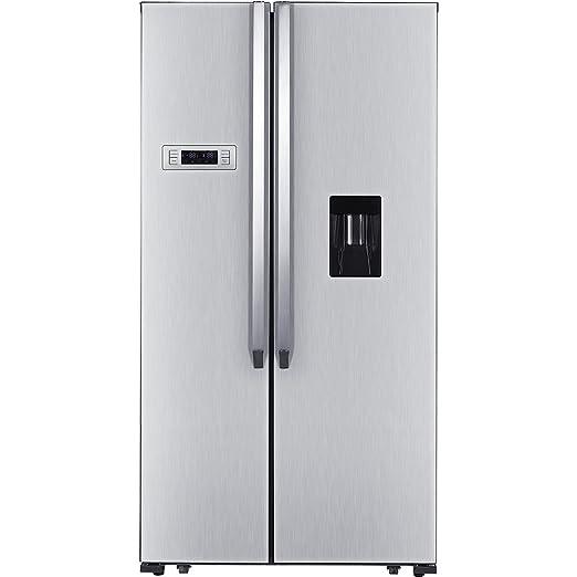 Daya Home Appliances DFA-506DXED, Frigorifero Side By Side Inox ...