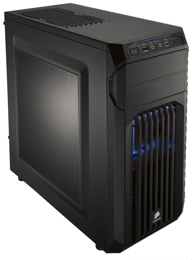Corsair Carbide SPEC-01 Boîtier PC Gaming  Moyen Tour ATX Noir avec LED Bleu