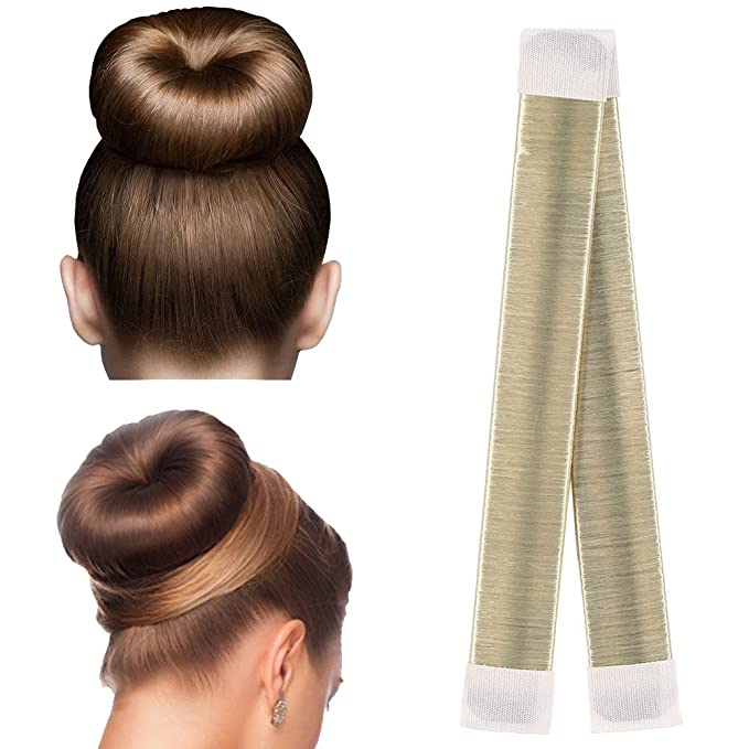 Ikulilky Donut Hair Bun Maker Dutt Hilfe 5 Stucke Damen French Bun