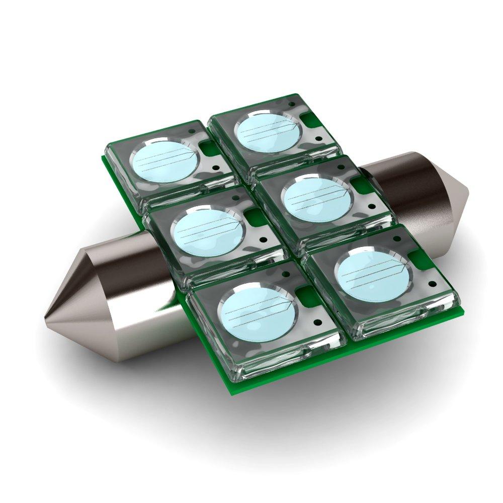 BioBubble LED Bulb UV 7.5 inches x 4 inches x 0.5''