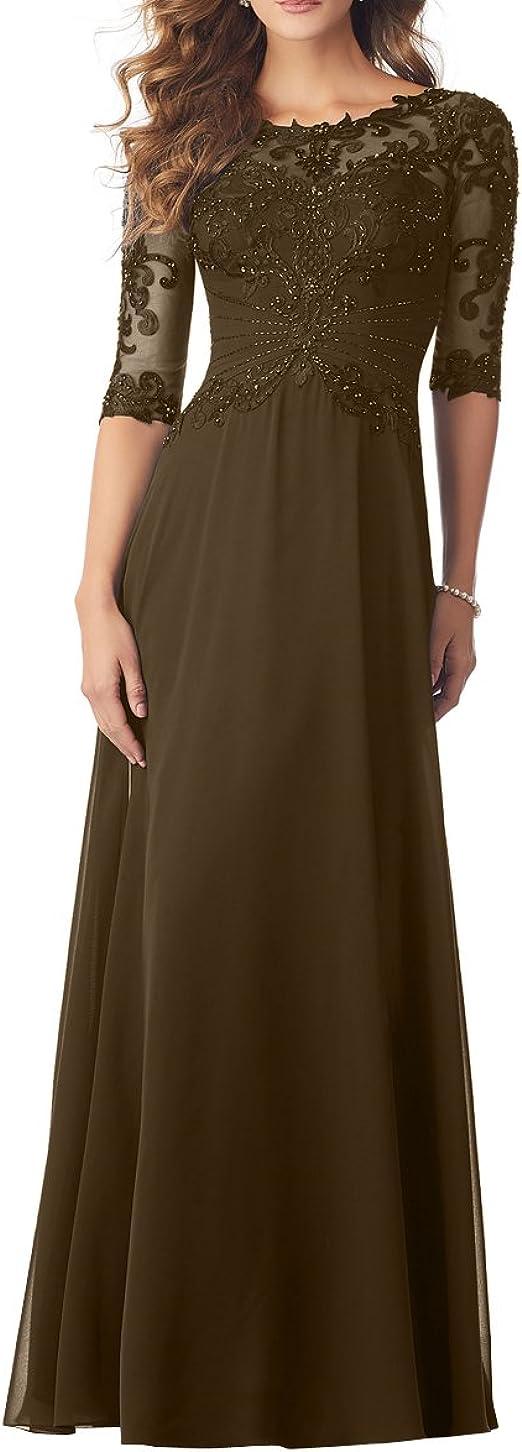 Royaldress Elegant Brautkleid Standesamt Kleid F R Brautmutter Abendkleider Ballkleider Langarm Mit Pailletten Amazon De Bekleidung