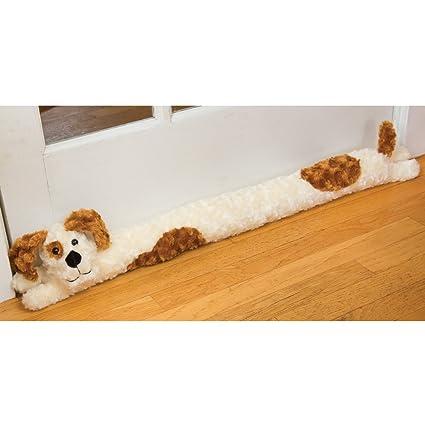 Amazon Bits And Pieces Plush Doggie Door Draft Stopper Door