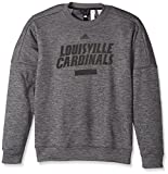 NCAA Louisville Cardinals Men's Sideline Chiseled Team Issue Fleece Crew Sweat Shirt, X-Large, Dark Gray